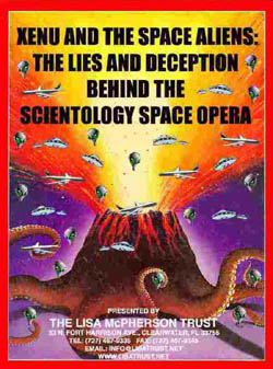 Do Scientologists really belive in Zenu and trapped souls?