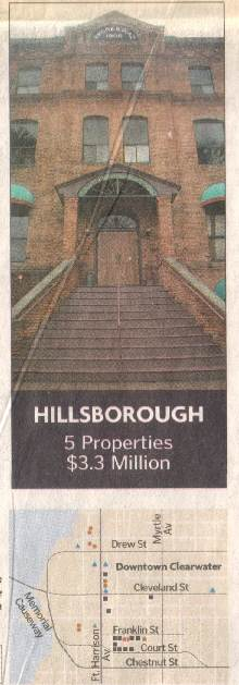 Hillsborough 5 properties $3.3 million