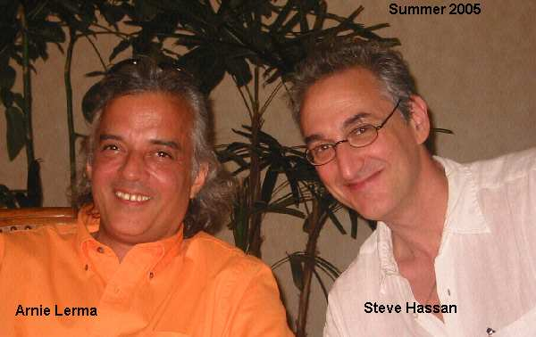 arnie lerma with steve hassan, author of combatting cult mind control