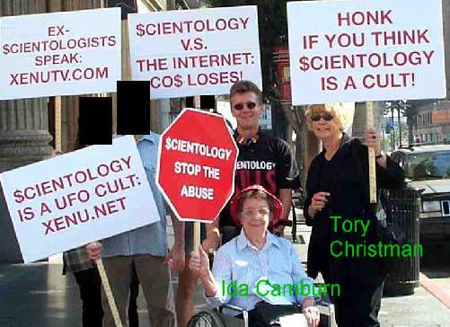 Scientology calls the this a hate march