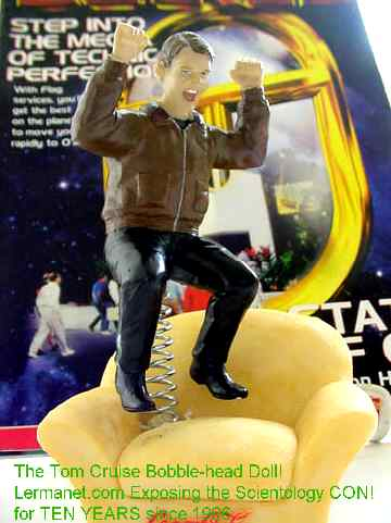 The new tom cruise bobble head doll