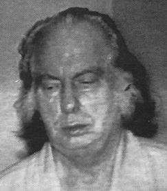 Picture of L Ron Hubbard sometime before his death in 1986 from a LOOK magazine article